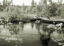 Foton tagna av Hans Lidman och Stig Elvén